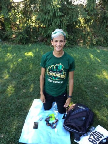 New cross country runner brings home first place