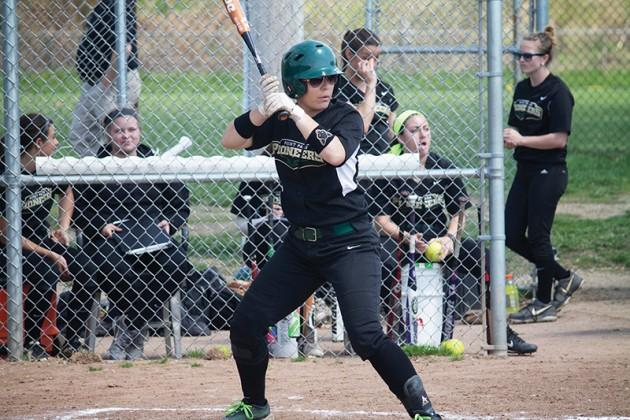Softball team sweeps Midway in four games in Senior Day series