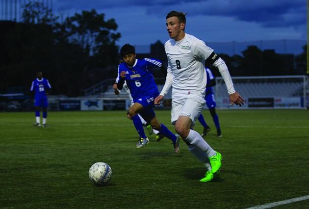Men's Soccer goes on scoring spree during senior night