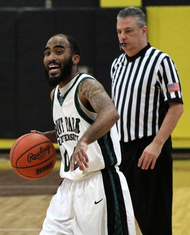 Men's basketball scores upset against IU East