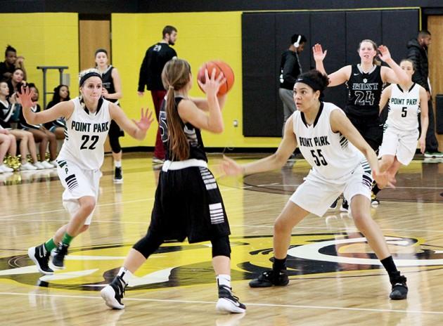 Women's basketball falls short against KIAC foe
