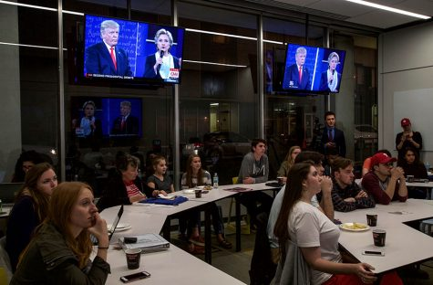 CMI hosts debate party