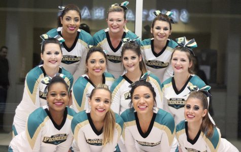 Cheer and dance team makes debut