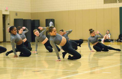 Cheer and dance showcase skills