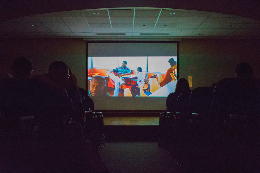 """Moonlight"" was screened in the JVH auditorium April 6. Viewers were locked into the drama, sharing laughs and cries with the scenes."