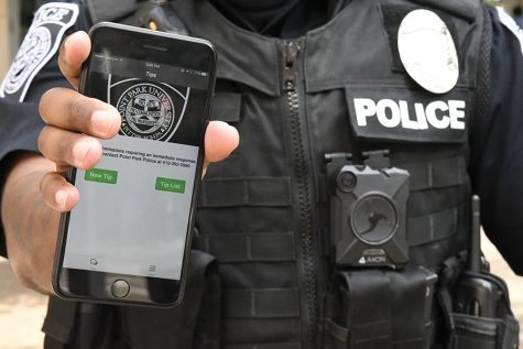 Campus security app launched