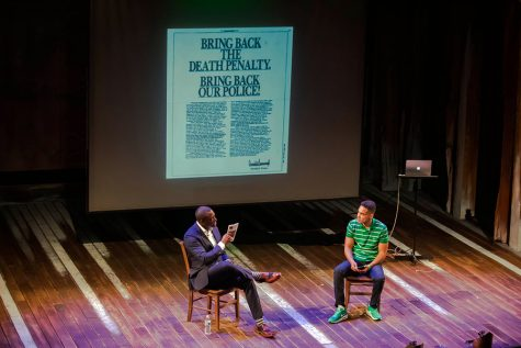 Talk Back Series makes debut with hip-hop artist and activist