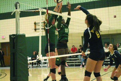 Volleyball takes over division lead