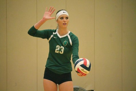 Volleyball division hopes dashed at home