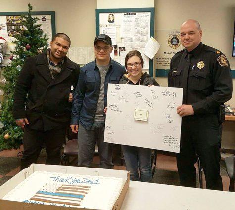 Criminal Justice Club shows appreciation to local law enforcement