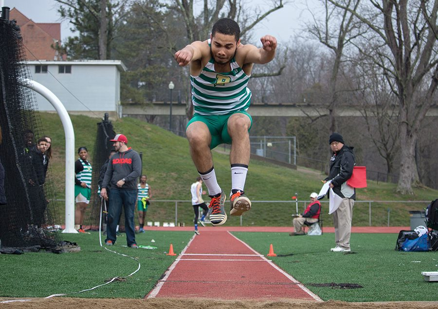 Senior+Jryi+Davis+competes+in+the+triple+jump+last+season+at+the+Muskingum+Muskie+Duals+on+Mar.+18.+He+will+return+to+nationals+for+the+fourth+time.%0A
