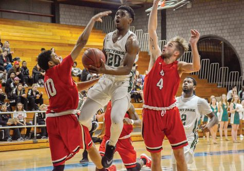 King dethrones Wilberforce University on last-second layup