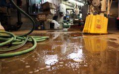 Rainy weekend floods Thayer Hall, West Penn basements