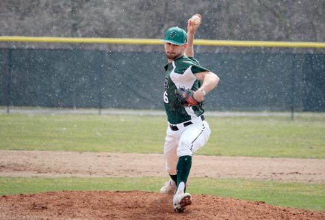 Pitching staff leads baseball to 9-0 RSC