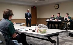 President Hennigan discusses university's future with USG
