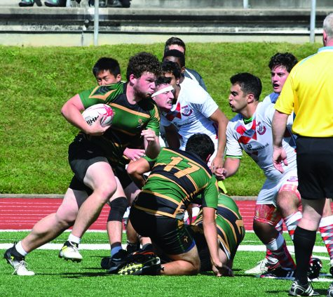 Bison Rugby kicks off season with loss to Robert Morris University