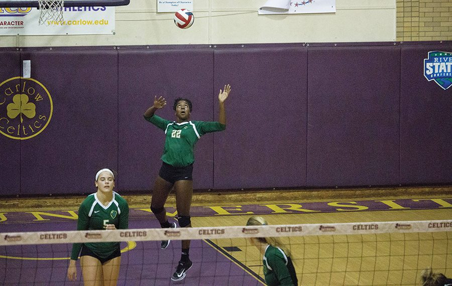 Volleyball claims first place in RSC East, starts new win streak