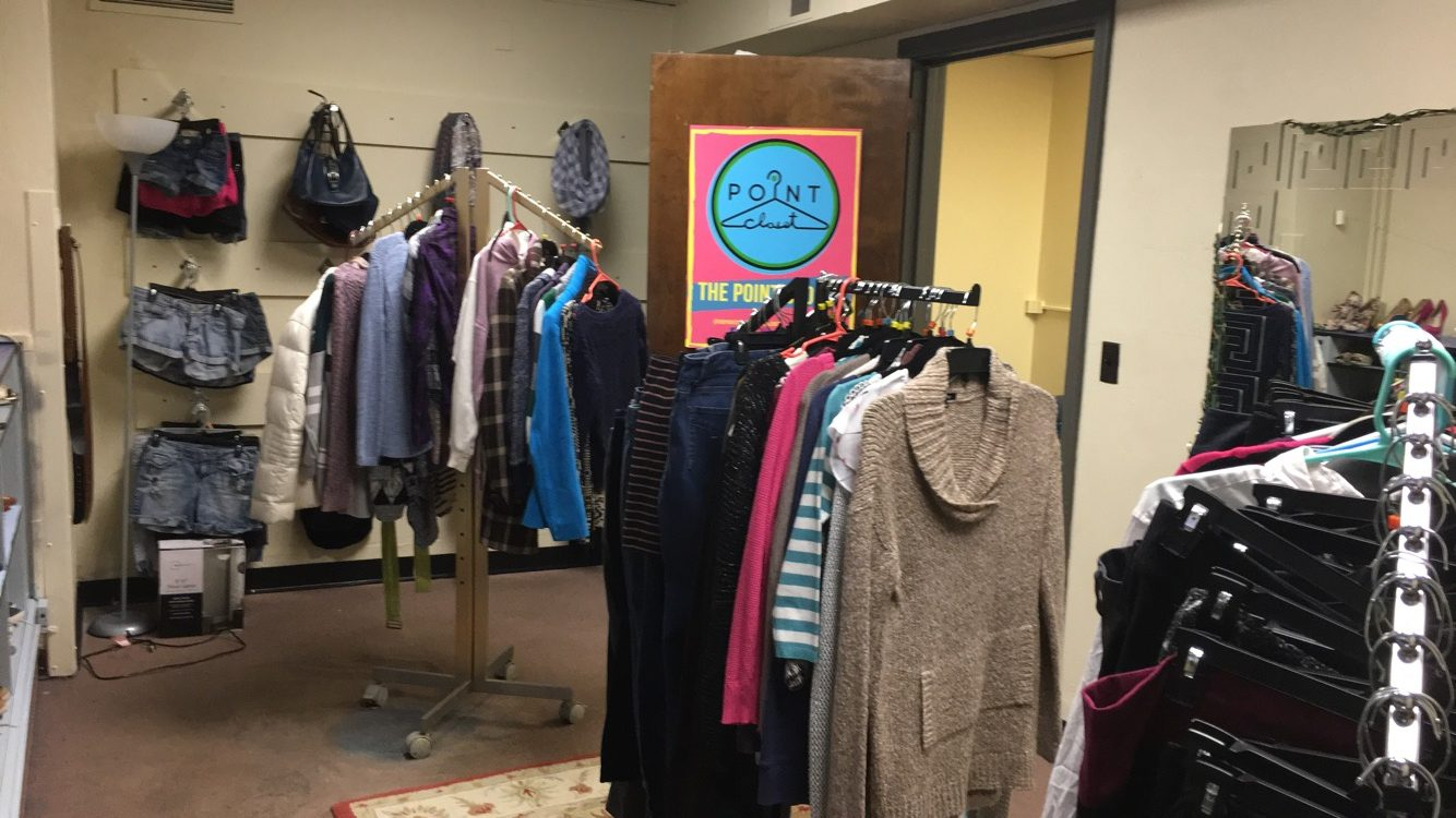 The Point Closet opens a permanent shop in Lawrence Hall.