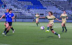 Women net first win of season