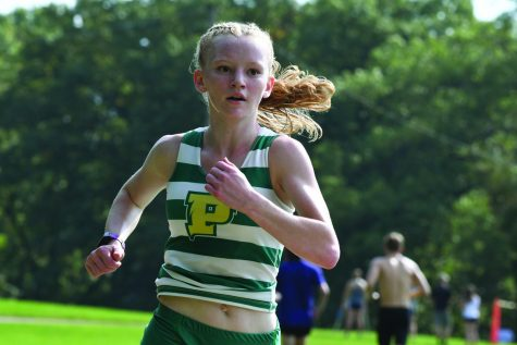 Sophomore spreads positive energy on track