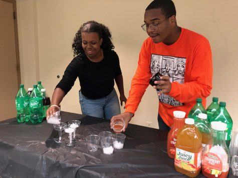 Black Student Union holds mixer with free food and drinks