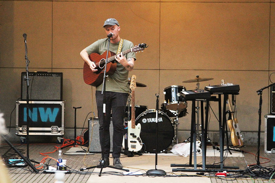 Northern Whale performs at Village Park on Sept. 6