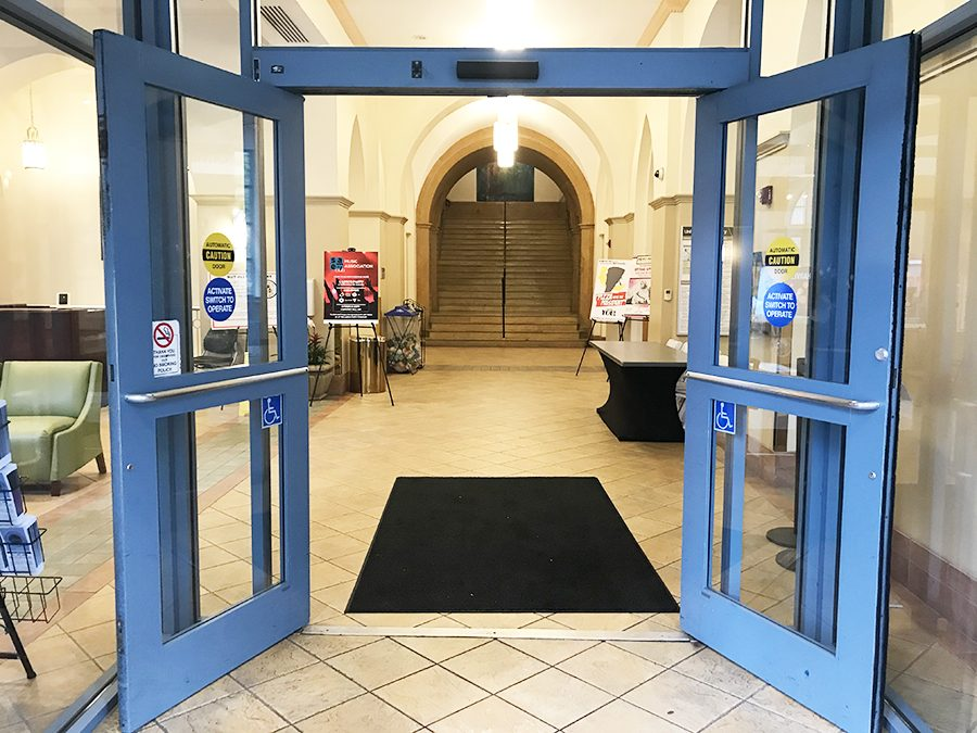 Barrier optical turnstiles will be implemented near the entrance of Lawrence Hall in the coming weeks, according to Public Safety.