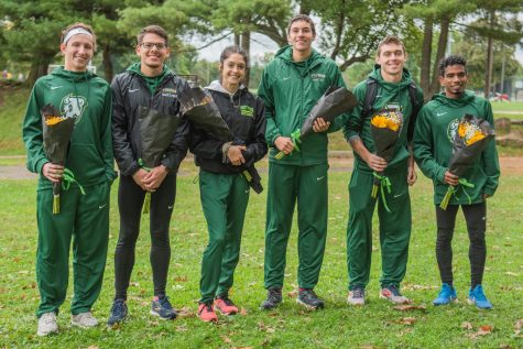 Men and women both take top-five finish on Senior Day