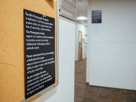 Inadequate facilities generate photography department unrest