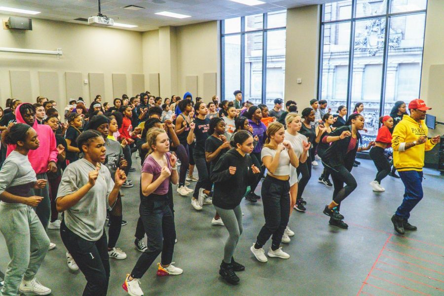 Campus hosts National High School Dance Festival