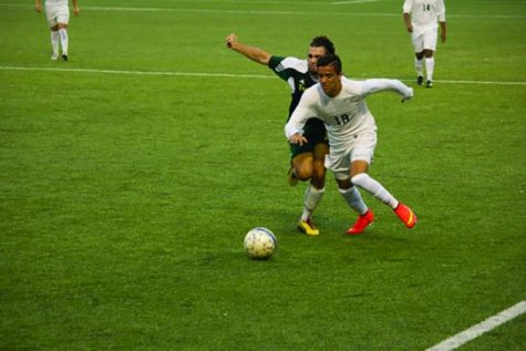 Men's soccer kicks off season with a win