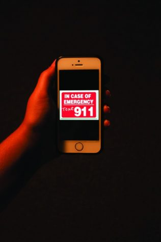 Cell phone carriers allow users to text 911