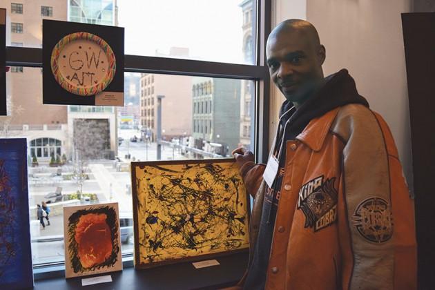 Art exhibit showcases homeless community work