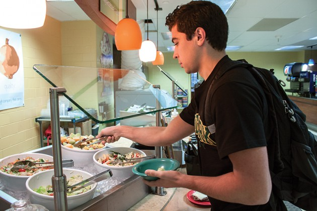 University to feature vegetarian, vegan options for 'meatless Monday'