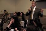 President Hennigan debuts draft of university's strategic plan to USG