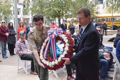 Gallery: University honors veterans