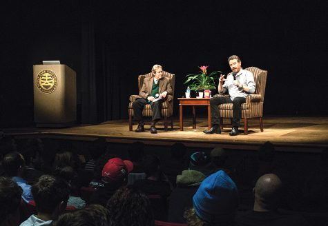Bryan Cranston makes stop at university for Q&A session