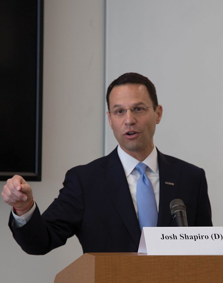 Attorney General-elect Josh Shapiro
