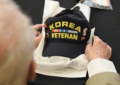 Korean War vets take spotlight