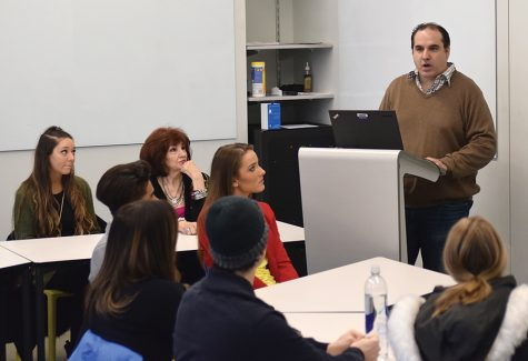 ABC producer shares his story with students