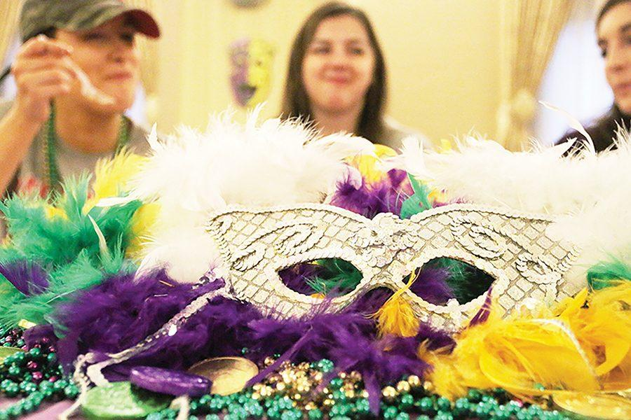 CAB+holds+their+Mardi+Gras+celebration+in+the+Lawrence+Hall+ballroom+on+March+9+featuring+authentic+Brazilian+food+and+dance.