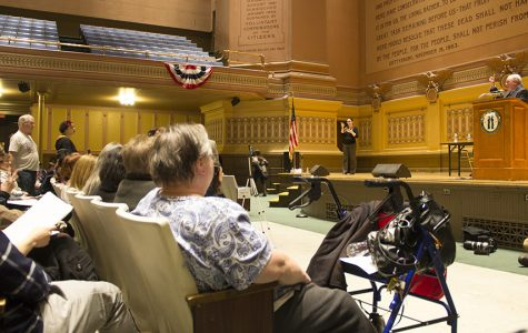 Rep. Doyle blasts Obamacare repeal at Oakland town hall
