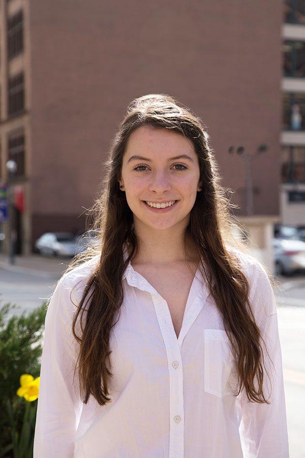 Riley Frank Running for: School of Arts and  Sciences Senator Year: Freshman Major: Political Science Positions: Senator