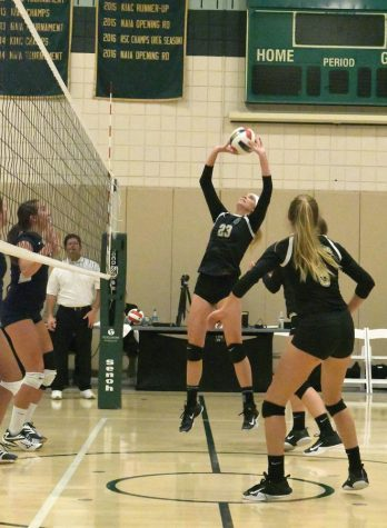 Volleyball rebounds on road after home opener