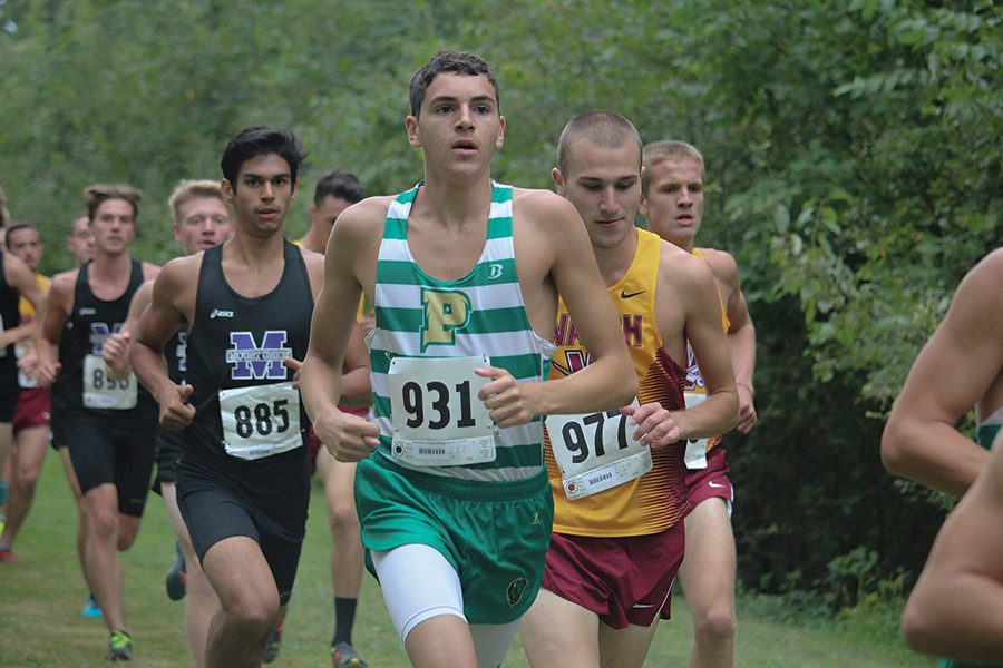 Sophomore Xavier Stephens placed first individually at the Asbury Invitational on Saturday. The men's team as a whole also placed first at the meet.
