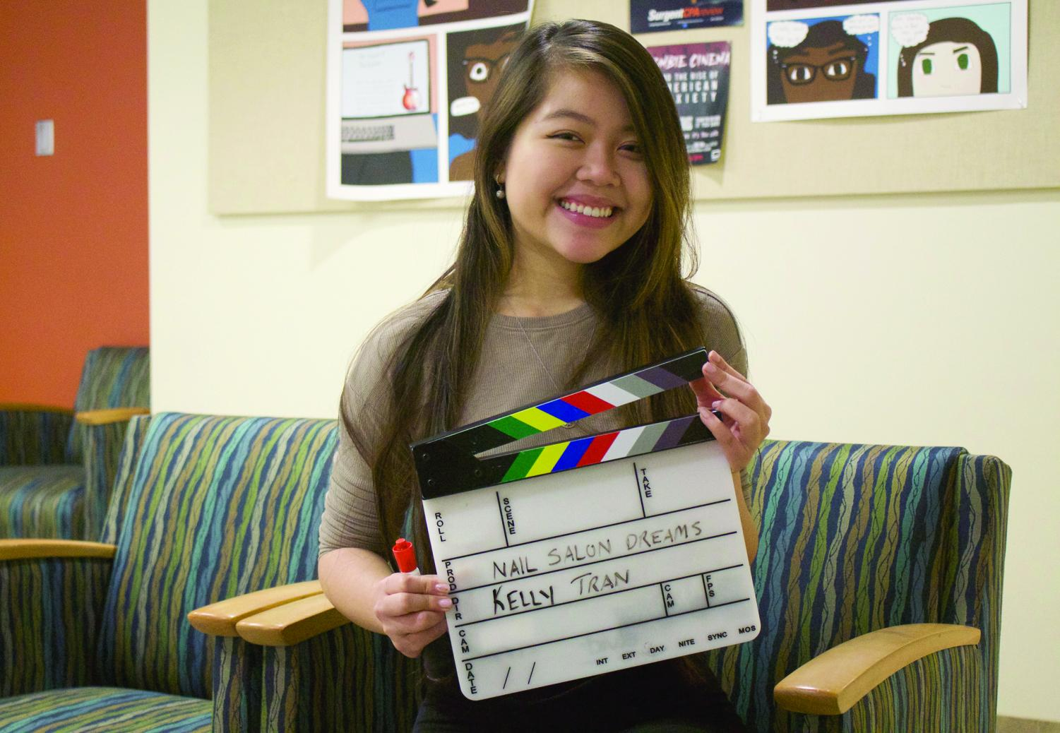 Kelly Tran is currently working on her newest film, 'Nail Salon Dreams.'