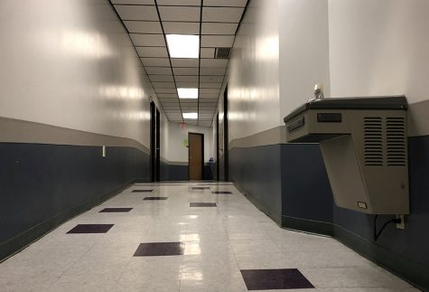 Academic Hall entry barred without ID scan at front desk