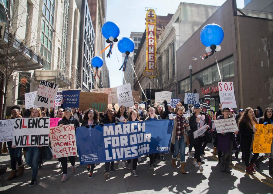 Future generations march for their future