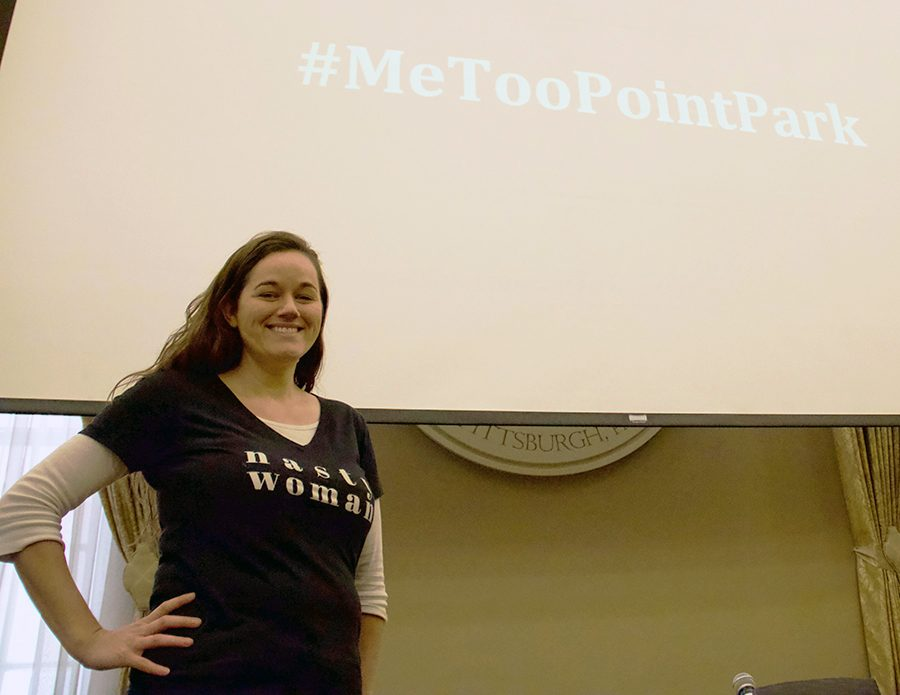 The+%23MeTooPointPark+Panel+was+postponed+to+International+Women%E2%80%99s+Day+on+Thursday+March+8.