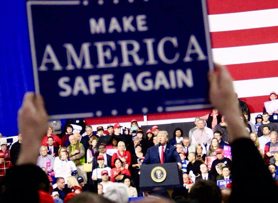 President+Donald+J.+Trump+holds+a+rally+for+Republican+congressional+candidate+Rick+Saccone+at%0AAtlantic+Aviation+in+Moon+Township+on+Saturday%2C+March+10.+Saccone+is+campaigning+against%0ADemocratic+Congressional+candidate+Conor+Lamb+for+Pennsylvania%27s+18th+congressional+district%0Aon+Tuesday%2C+March+13.%0A